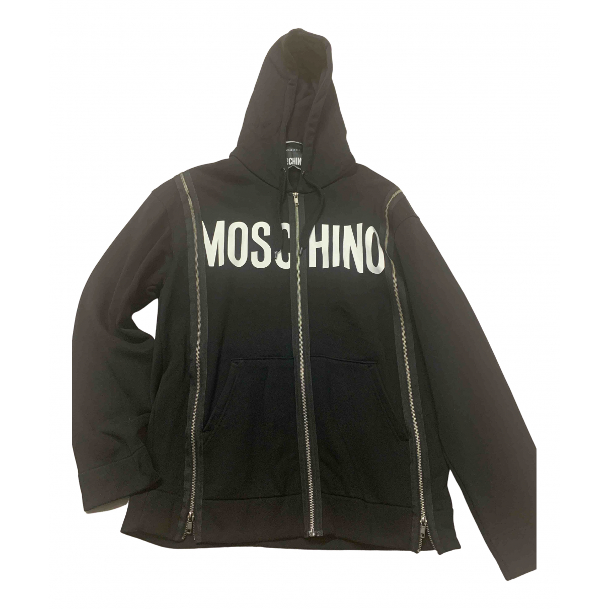 Moschino N Black Cotton Knitwear & Sweatshirts for Men 34 UK - US