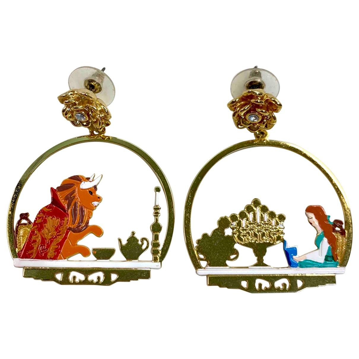 Les Néréides N Gold Metal Earrings for Women N