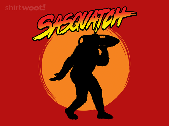 Sasqwatch T Shirt