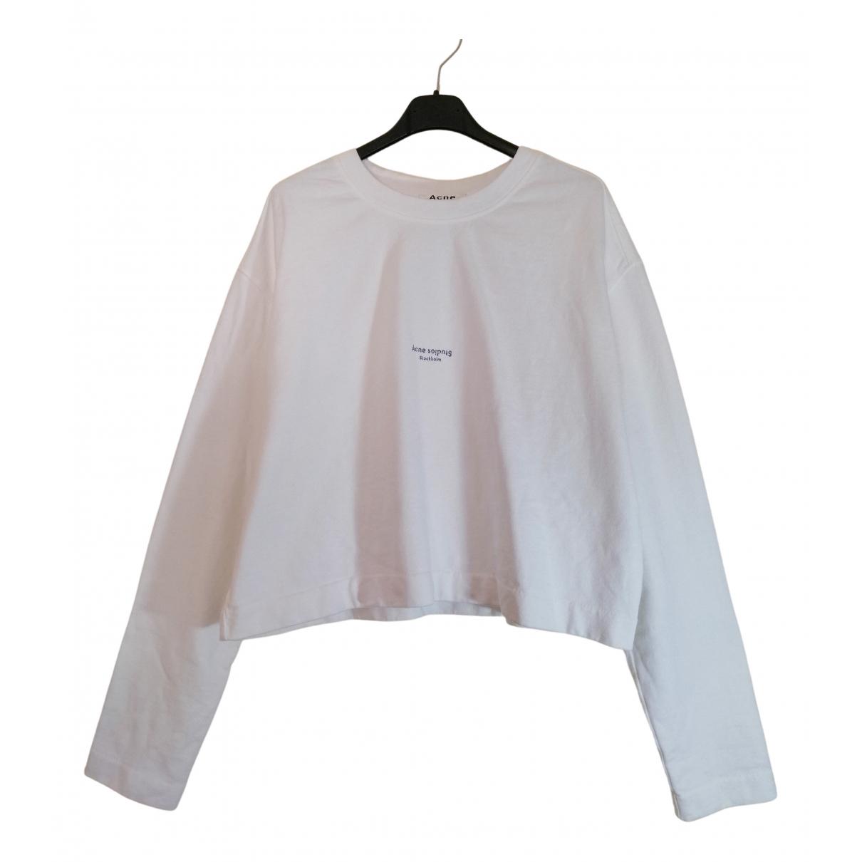 Acne Studios \N White Cotton Knitwear for Women M International