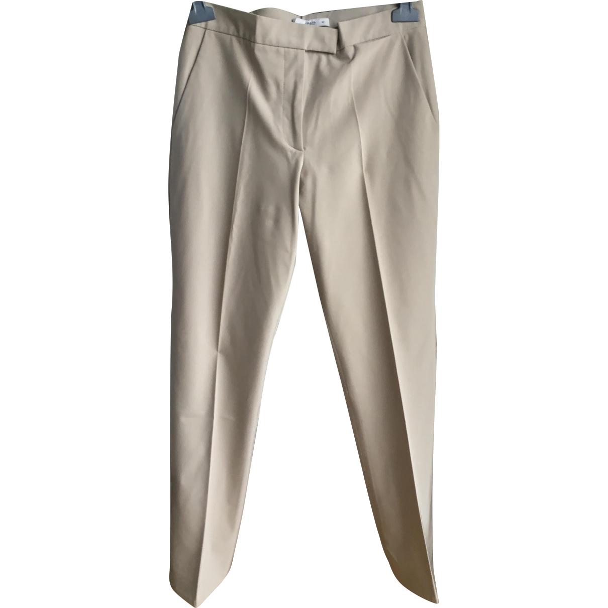 Prada \N Camel Trousers for Women 38 FR