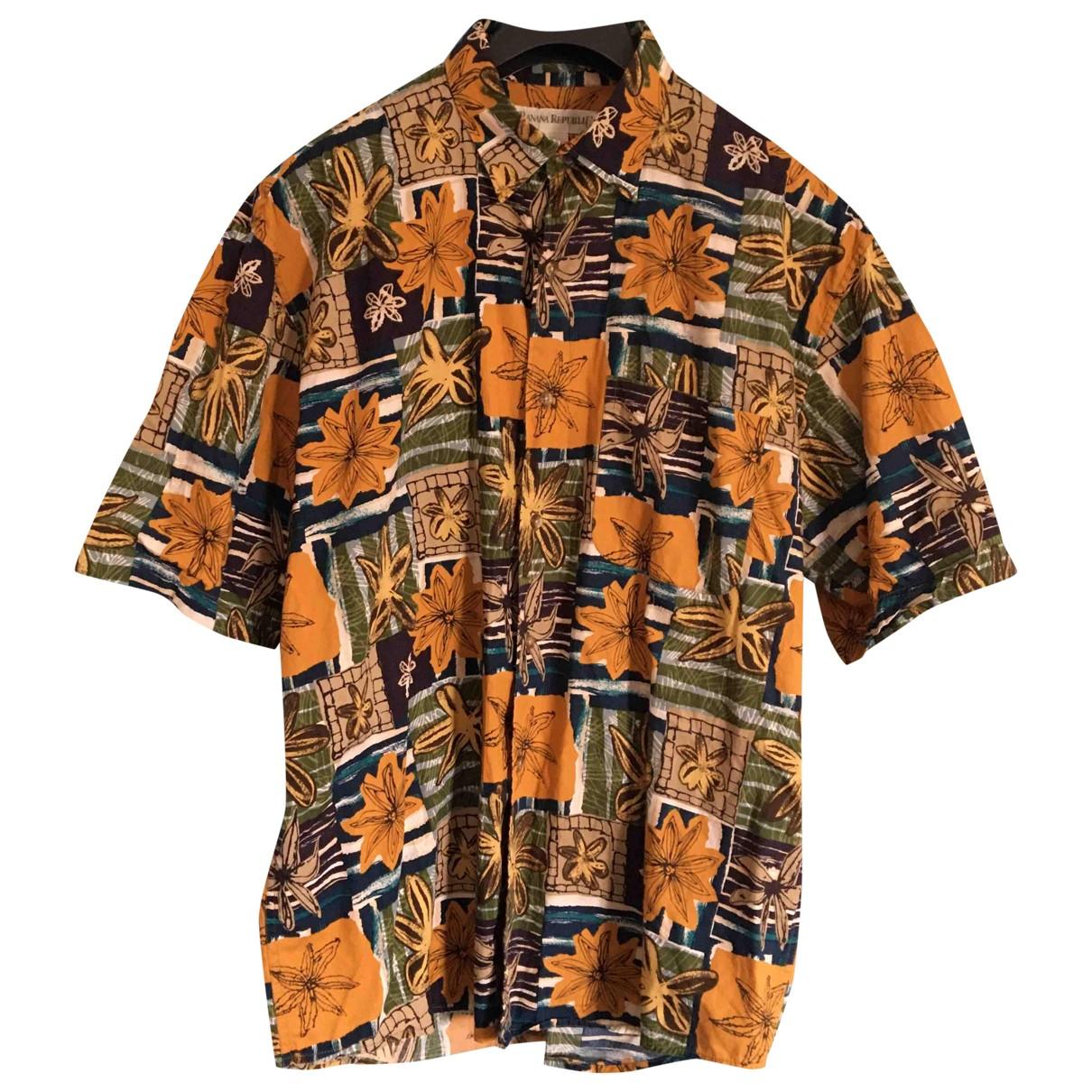 Banana Republic - Chemises   pour homme en coton - multicolore