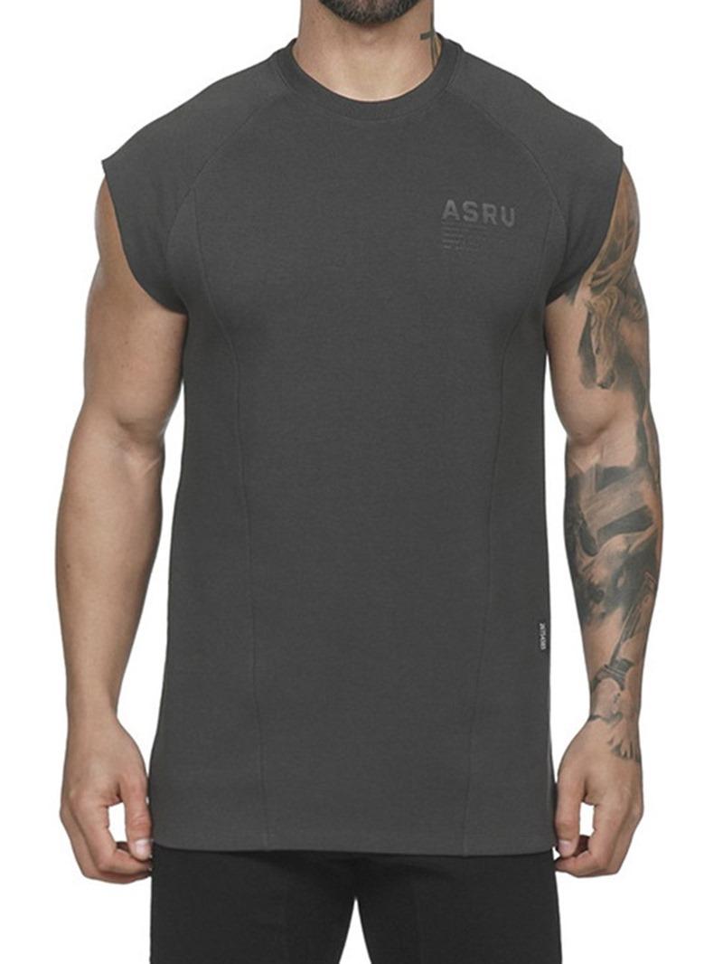 Ericdress Casual Round Neck Short Sleeve Slim T-shirt
