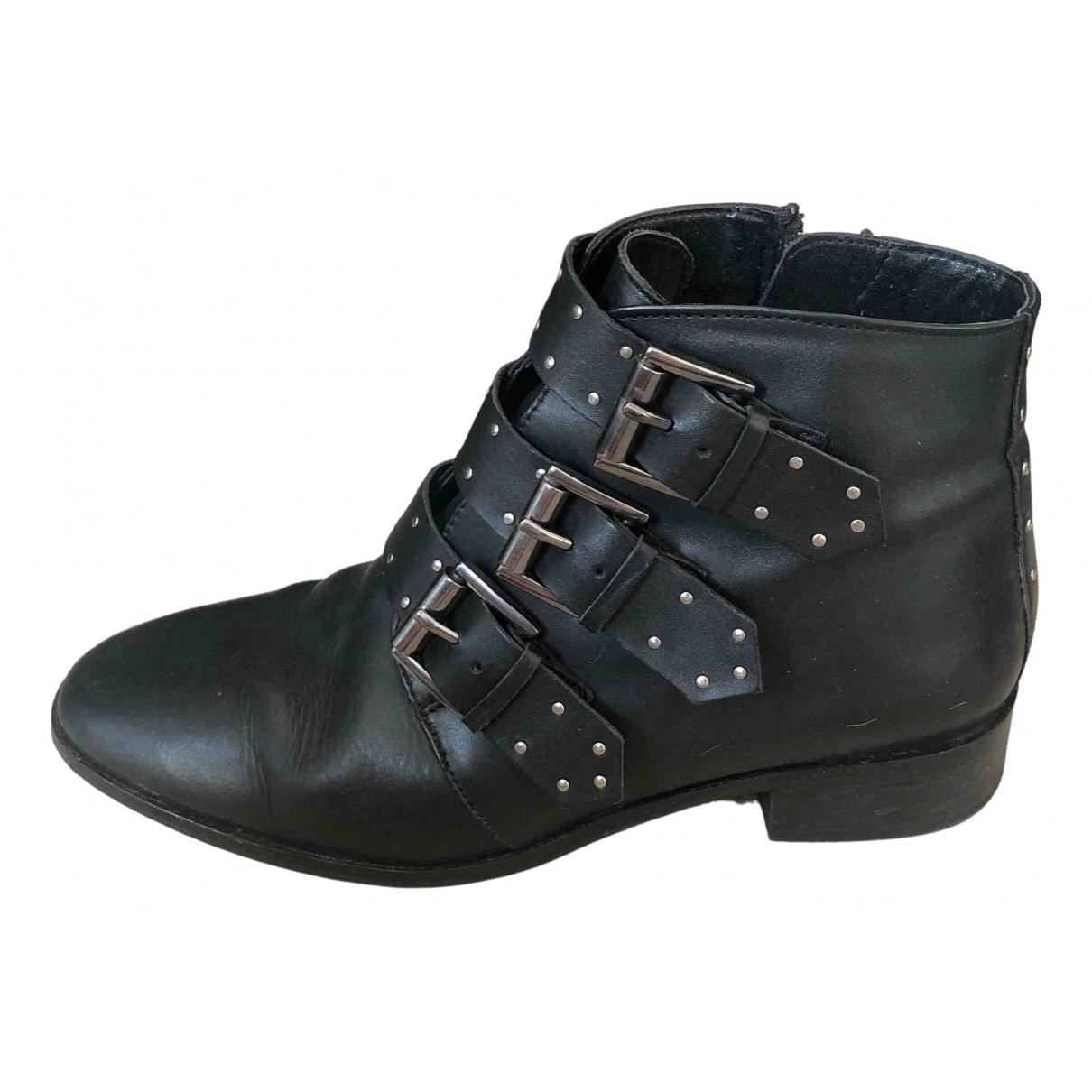 Asos \N Stiefel in  Schwarz Leder