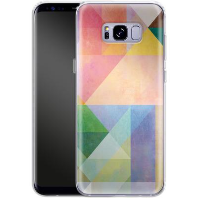 Samsung Galaxy S8 Plus Silikon Handyhuelle - Color Blocking 1 von Mareike Bohmer