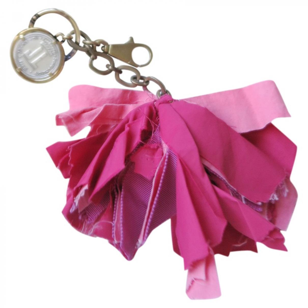 Lanvin - Bijoux de sac   pour femme en toile - rose