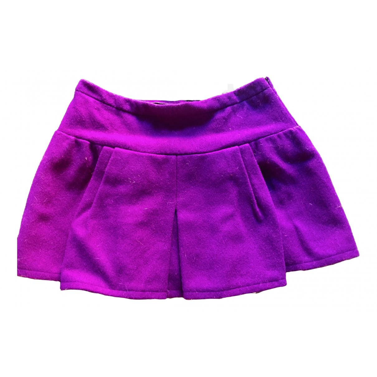 Balenciaga - Jupe   pour femme en laine - violet