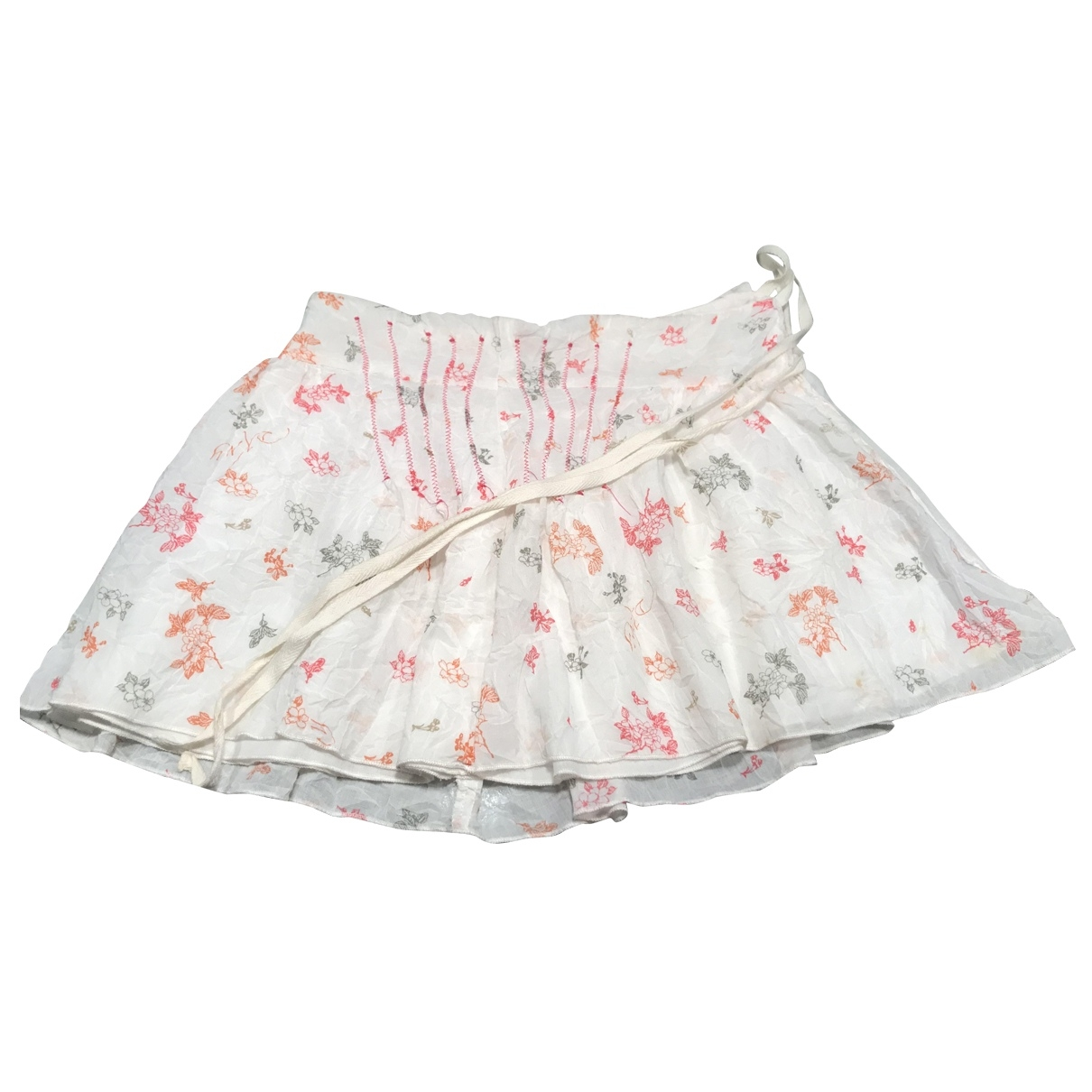 Dkny \N White Cotton skirt for Kids 6 years - up to 114cm FR