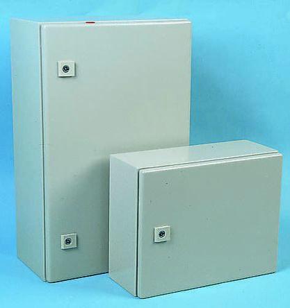 Rittal AE, Steel Wall Box, IP66, 210mm x 300 mm x 300 mm, Grey