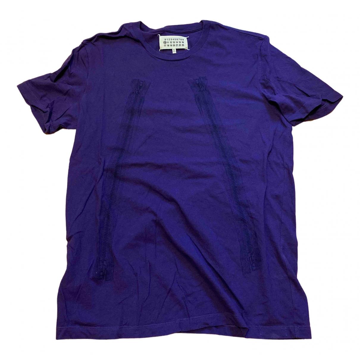 Maison Martin Margiela - Tee shirts   pour homme en coton - violet