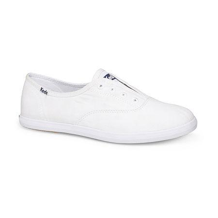 Keds Womens Chillax Slip-On Shoe, 9 Medium, White
