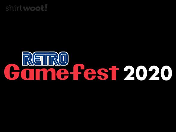 Retro Gamefest T Shirt