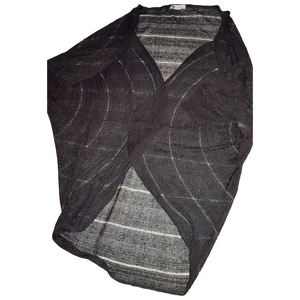 Aniye By \N Brown Linen Knitwear for Women M International