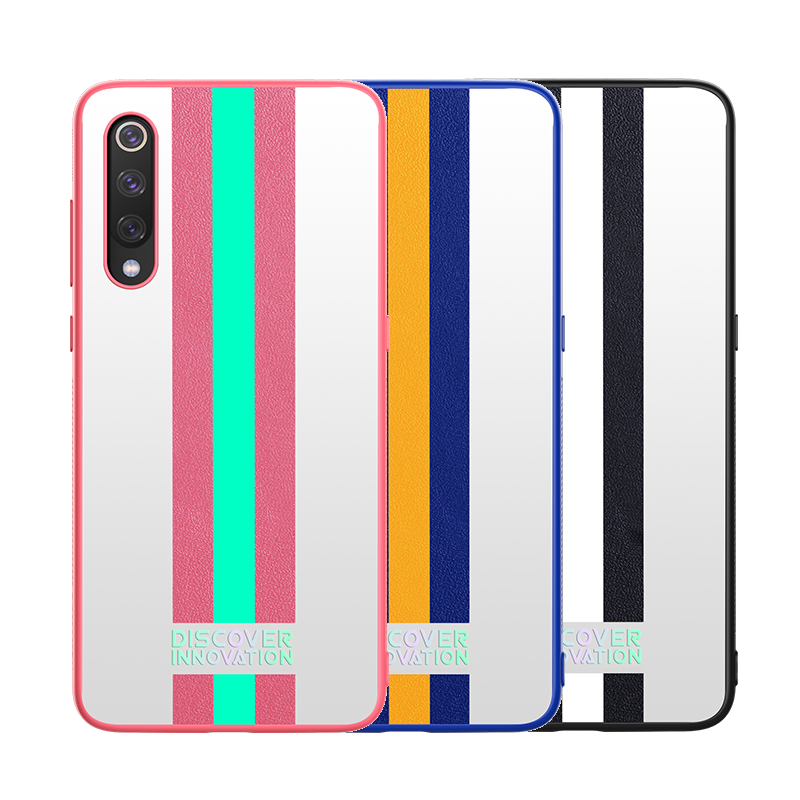 NILLKIN Reflective Stripe Shockproof Non-slip TPU Bumper Hard PC Protective Case for Xiaomi Mi 9 / Mi9 Transparent Editi