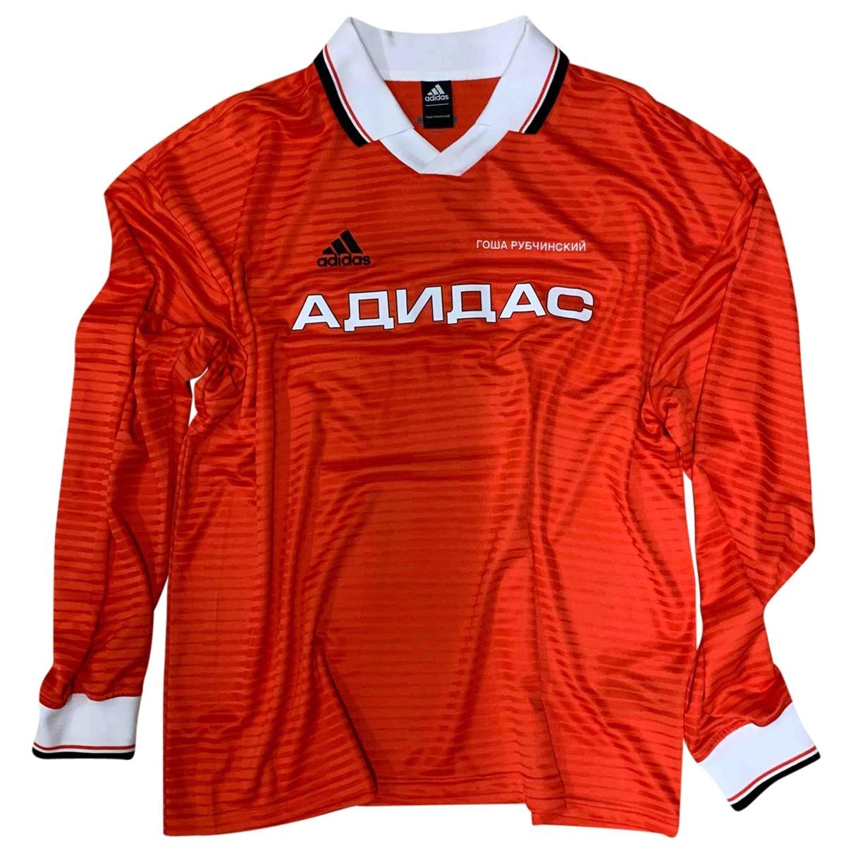 Gosha Rubchinskiy \N T-Shirts in  Orange Polyester