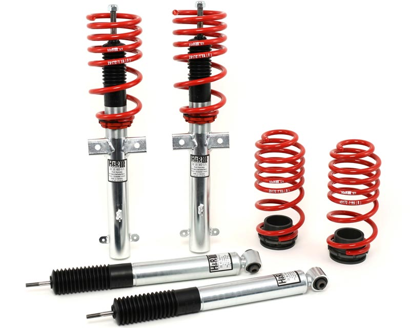 H&R 51656-2 Street Performance Coilover Ford Mustang Convertible V6, V8 11-13