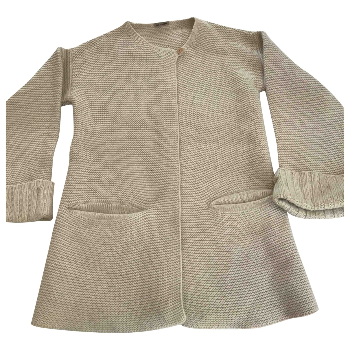 Tomas Maier \N Pullover in  Beige Wolle