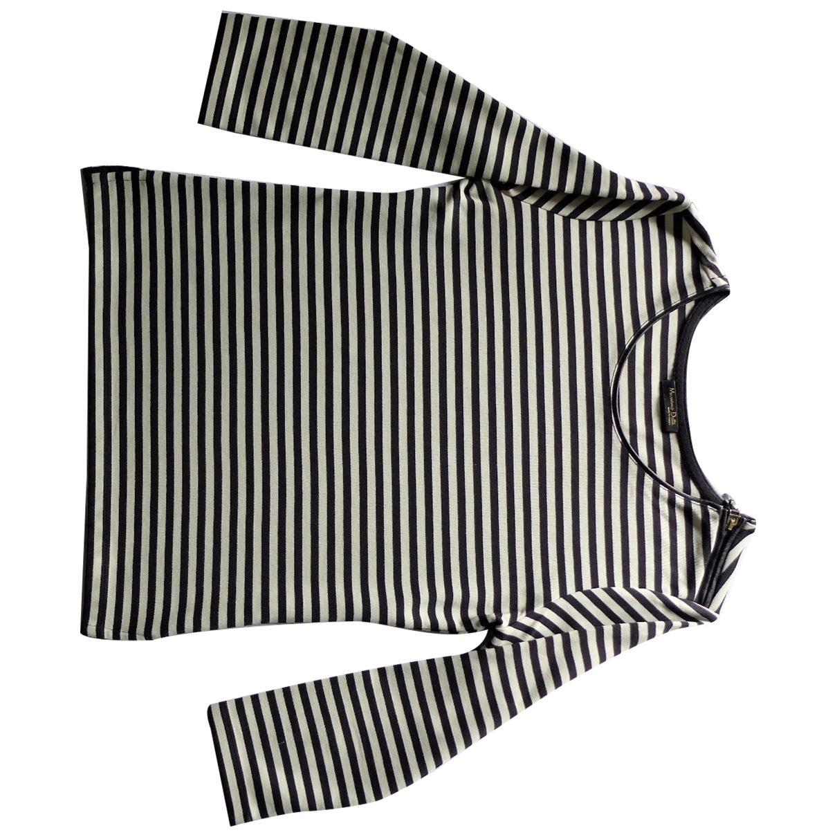 Massimo Dutti \N Black Cotton  top for Women XS International