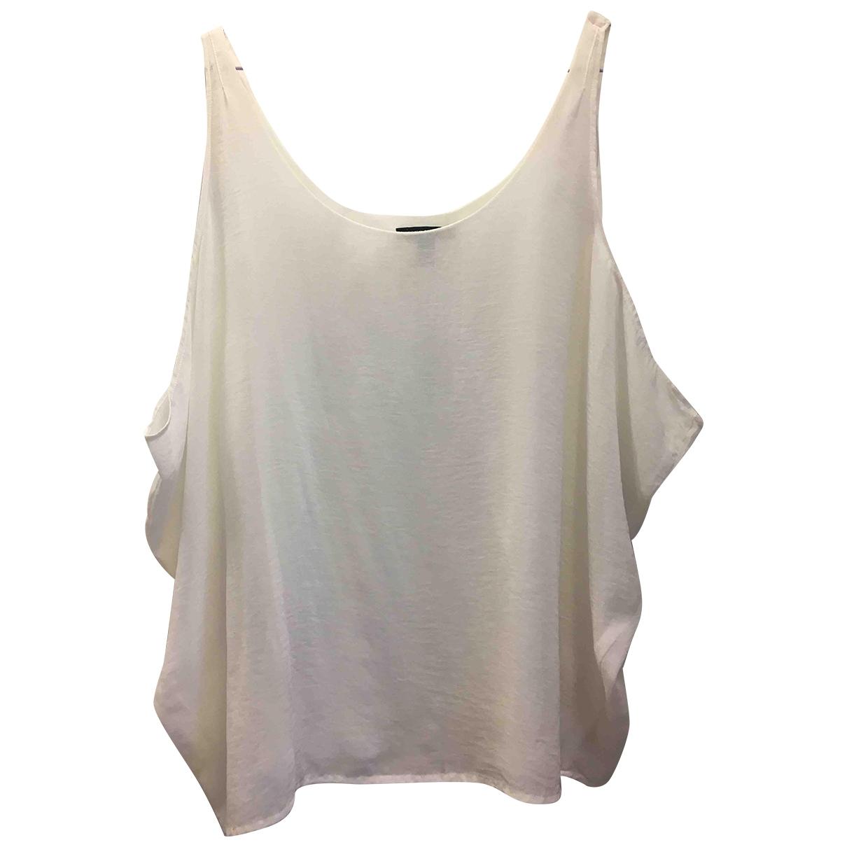 Mango \N White  top for Women S International