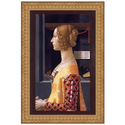 DA2862 21X29 Portrait Of Giovanna
