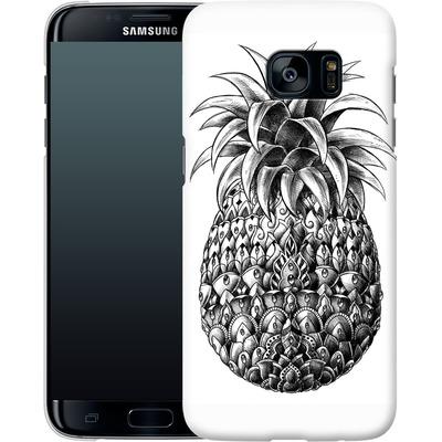 Samsung Galaxy S7 Edge Smartphone Huelle - Ornate Pineapple von BIOWORKZ