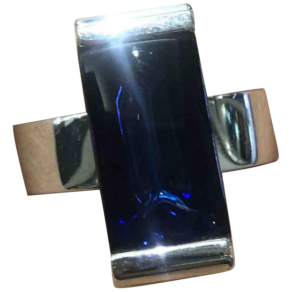 Baccarat - Bague   pour femme en argent - bleu