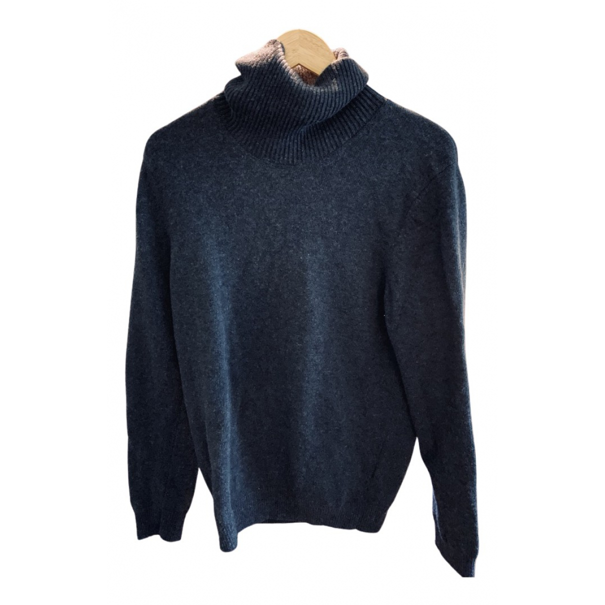 Octobre Editions - Pulls.Gilets.Sweats   pour homme en laine - bleu