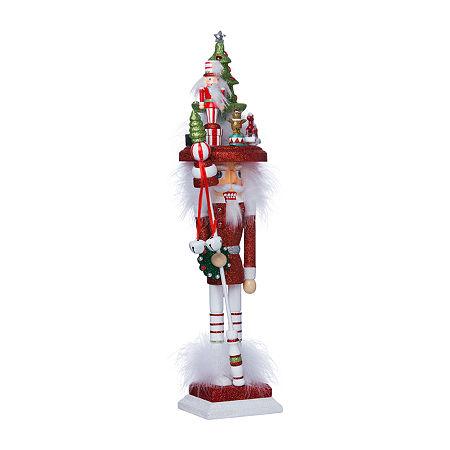Kurt Adler 18-Inch Hollywood Christmas Tree Hat Christmas Nutcracker, One Size , Multiple Colors