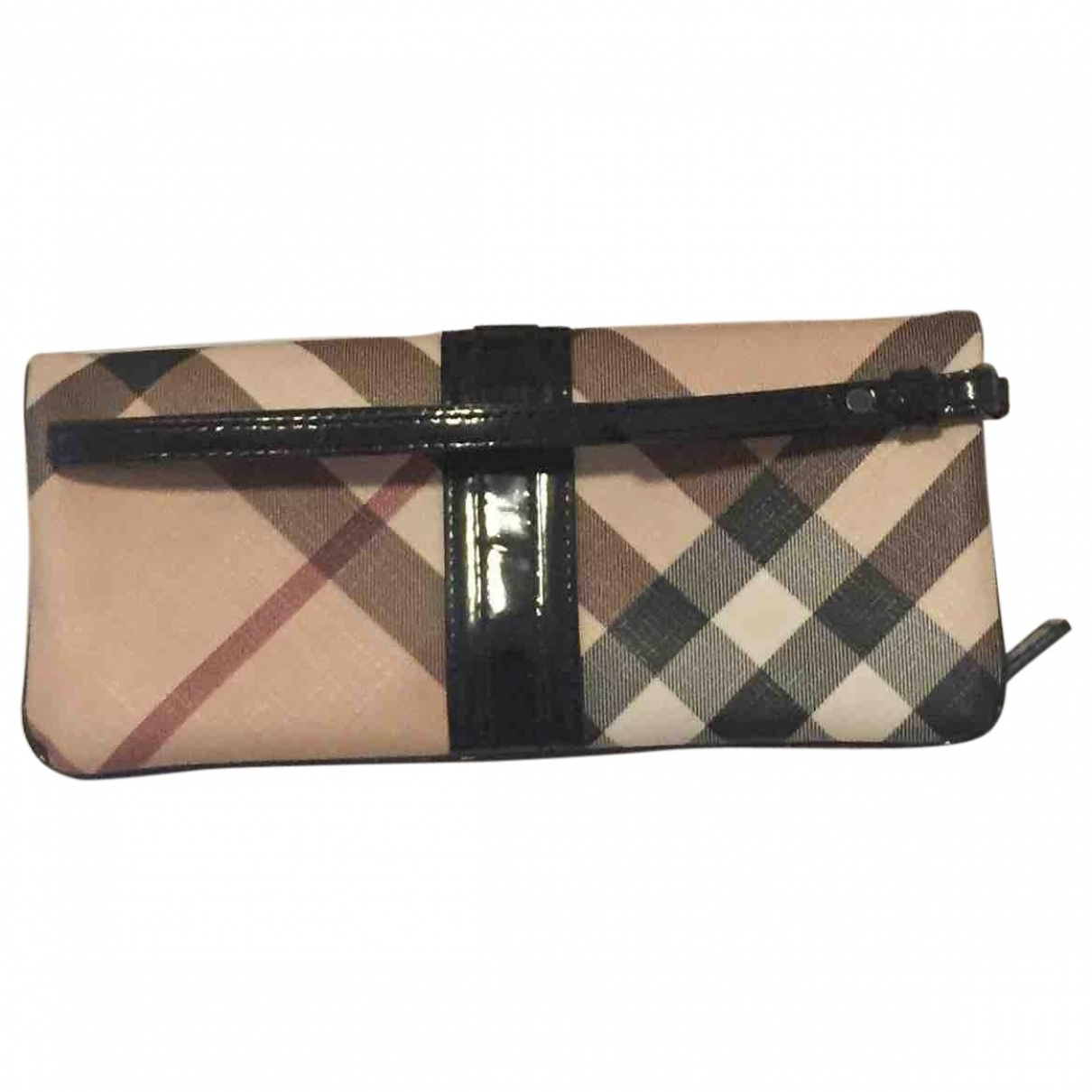 Burberry \N Beige Cloth Purses, wallet & cases for Women \N
