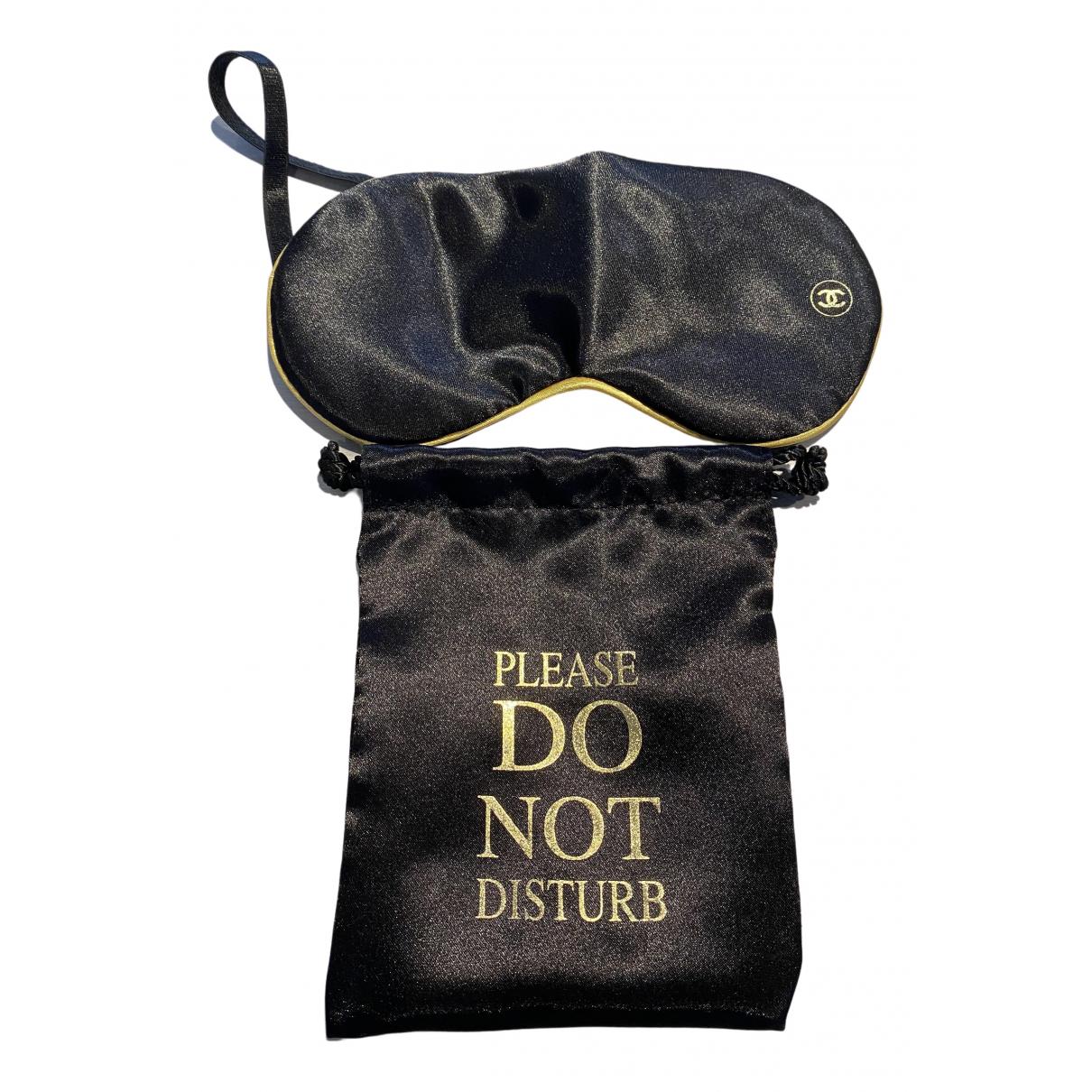 Chanel - Objets & Deco   pour lifestyle en soie - noir
