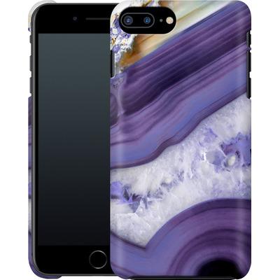 Apple iPhone 7 Plus Smartphone Huelle - Purple Agate von Emanuela Carratoni