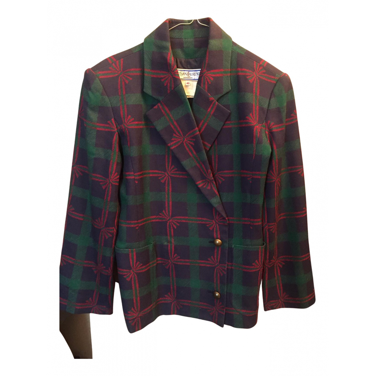 Yves Saint Laurent N Multicolour Wool jacket for Women 40 FR