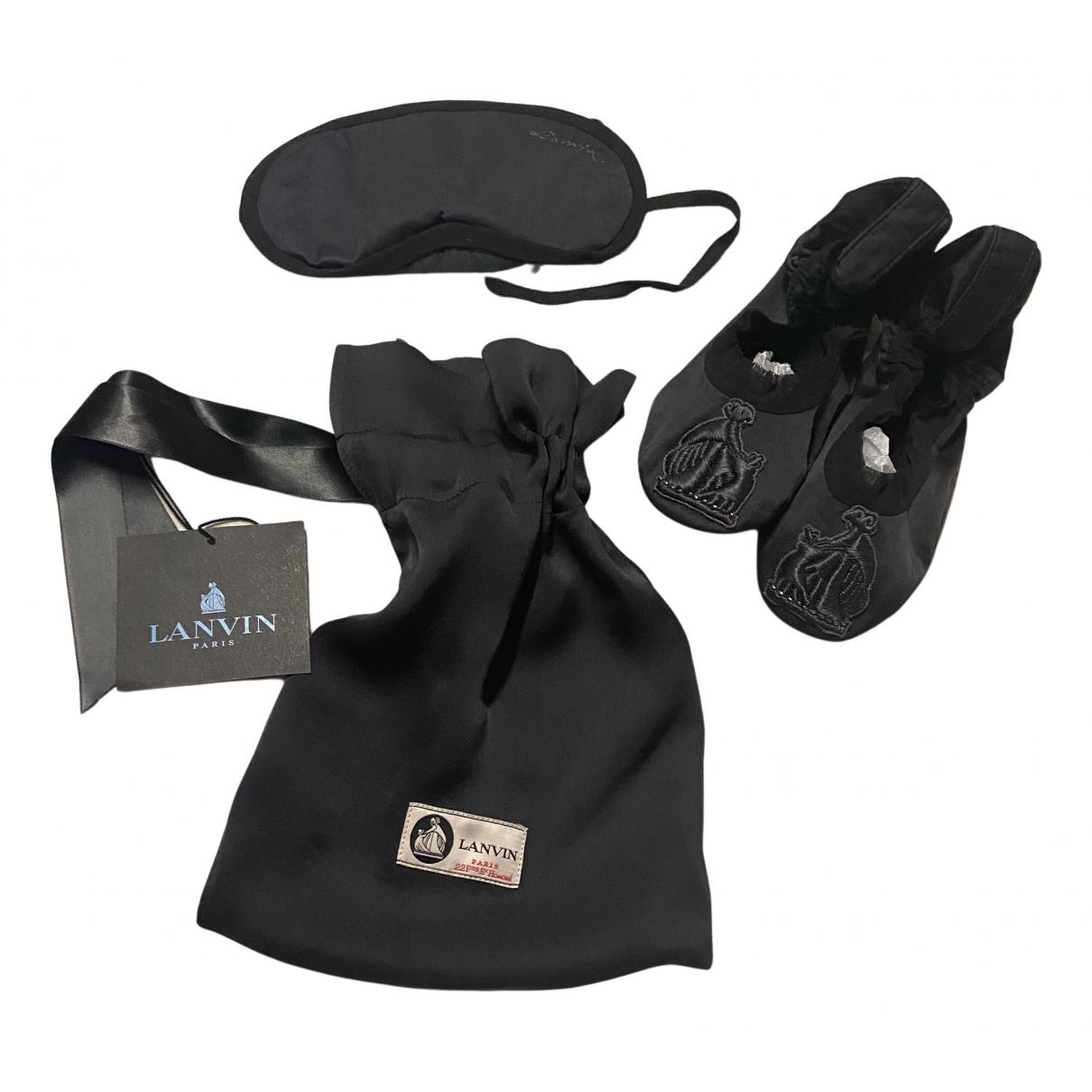 Lanvin - Voyages   pour lifestyle en coton - noir
