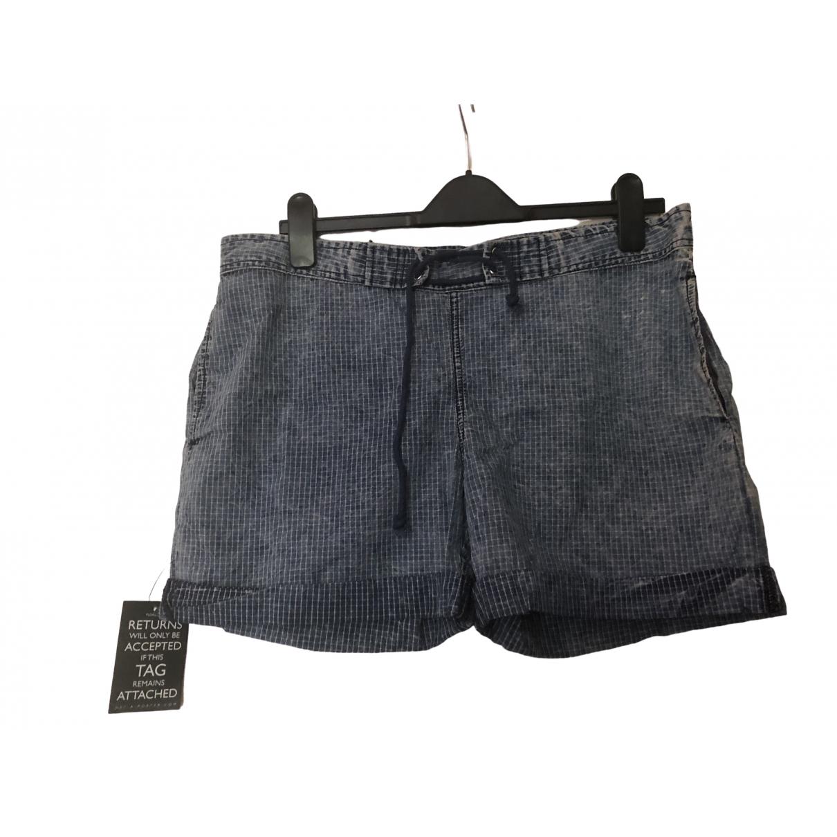 Elizabeth And James \N Shorts in  Blau Baumwolle