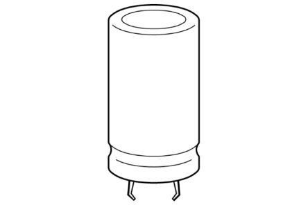 EPCOS 220μF Electrolytic Capacitor 400V dc, Snap-In - B43545B9227M000 (80)