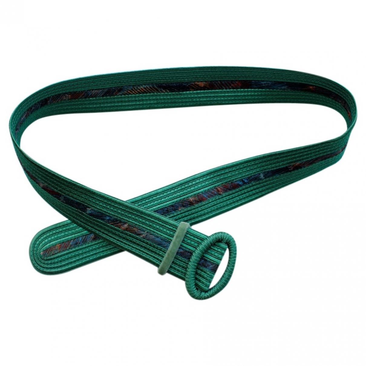 Yves Saint Laurent \N Green Cotton belt for Women 85 cm