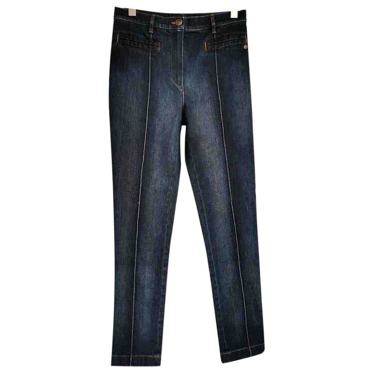Chanel \N Navy Denim - Jeans Trousers for Women 40 IT