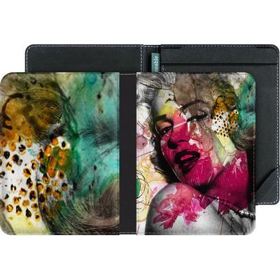tolino vision eBook Reader Huelle - Woman Aquarelle von Mark Ashkenazi