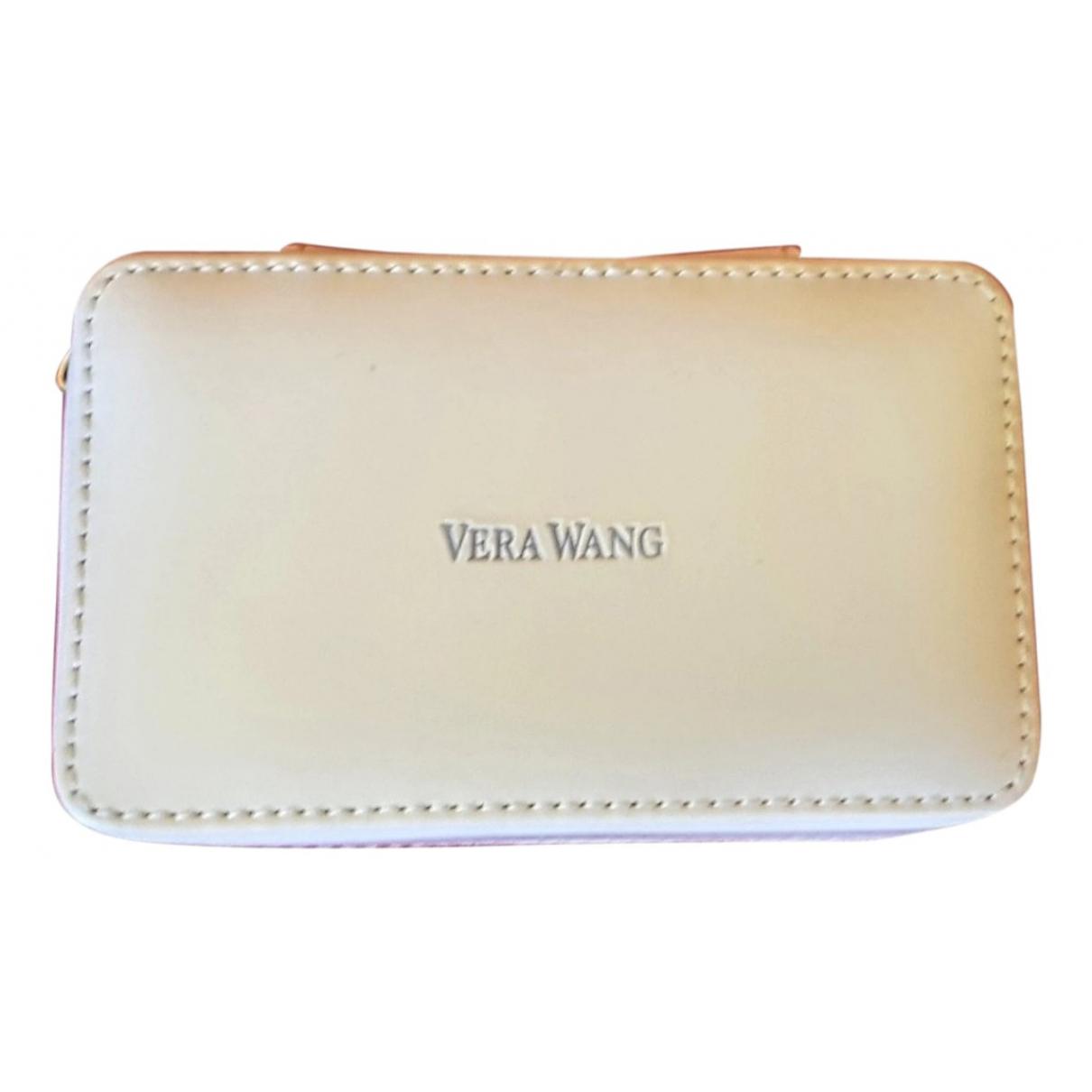 Vera Wang - Sac de voyage   pour femme en cuir - blanc