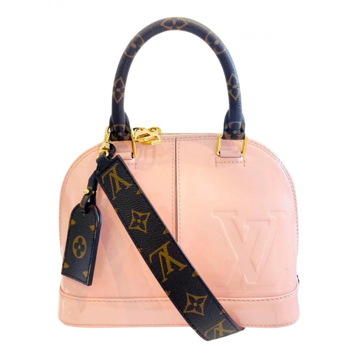 Bolso  Alma BB de Charol Louis Vuitton