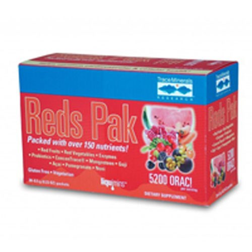 Reds Pak 30 paks by Trace Minerals