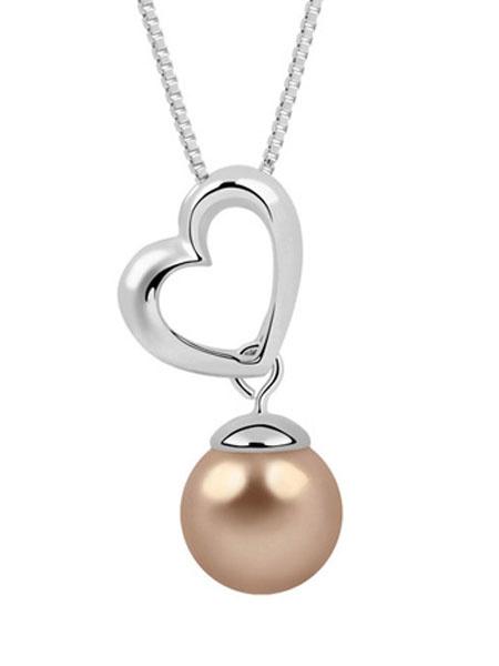 Milanoo Collar de metal Perlas Despedidas de soltera/para ensayo/para compromiso/Fiesta de bodas/para boda