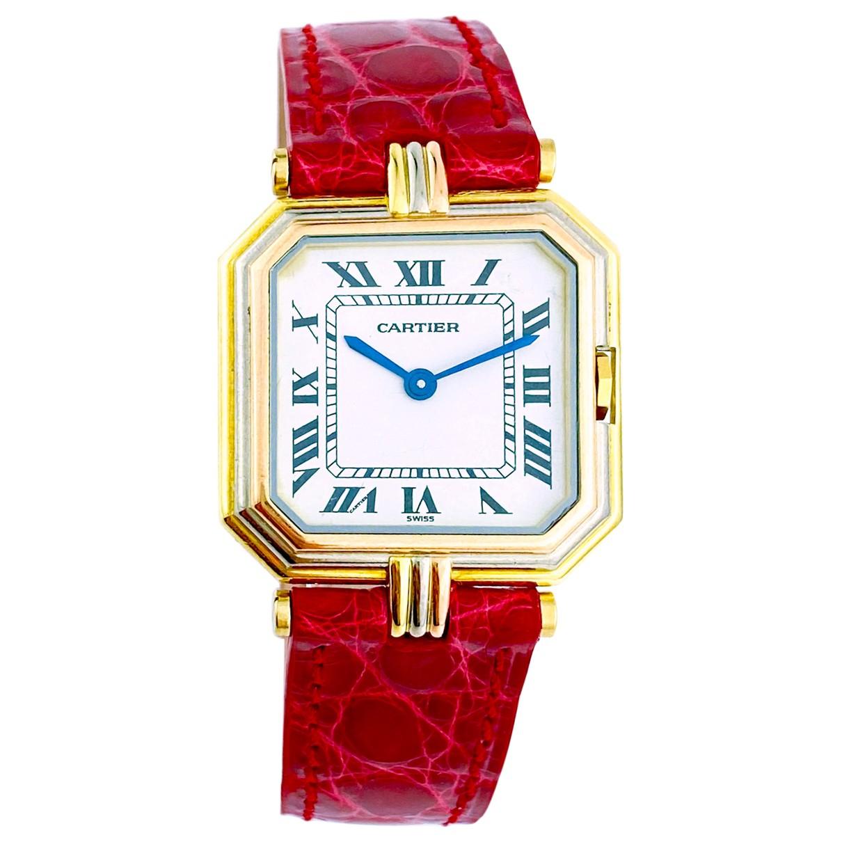 Cartier Ceinture Uhr in  Gold Gelbgold