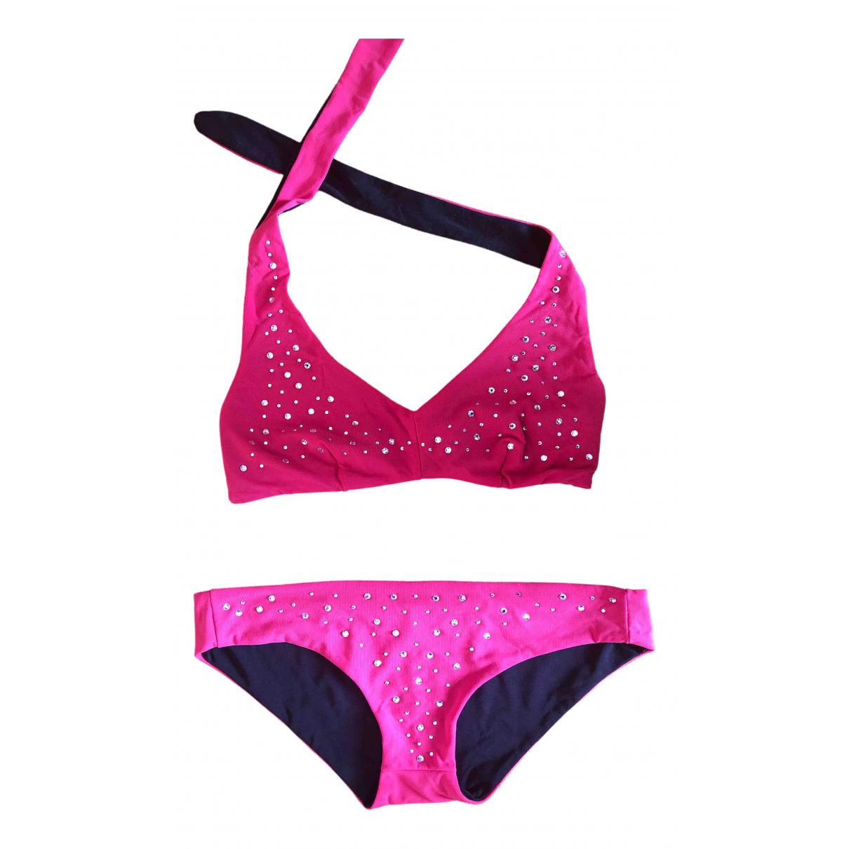 Pinko \N Badeanzug in  Rosa Polyester