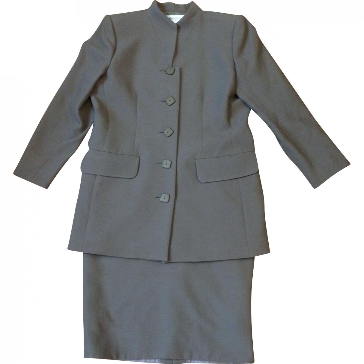 Yves Saint Laurent \N Green Wool jacket for Women 42 FR