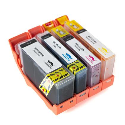 Compatible Canon PGI-5 CLI-8 cartouches d'encres BK/C/M/Y