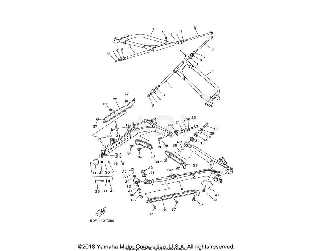 Yamaha OEM 90105-12098-00 BOLT, FLANGE