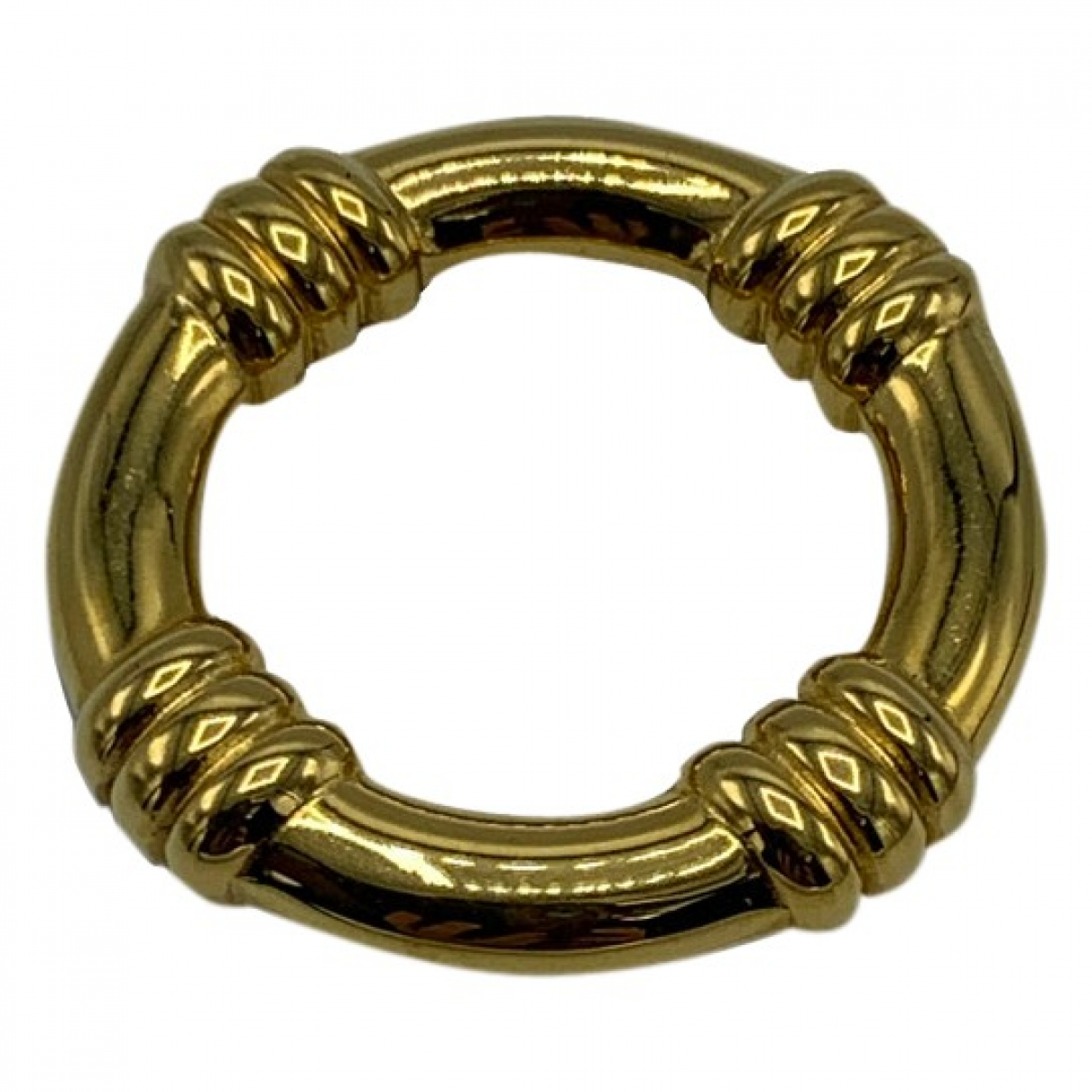 Hermès \N Gold Gold plated ring for Women \N