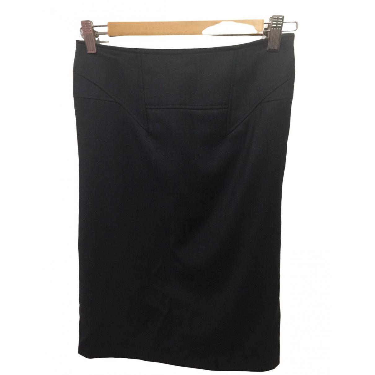 Reiss \N Anthracite Wool skirt for Women 2 US