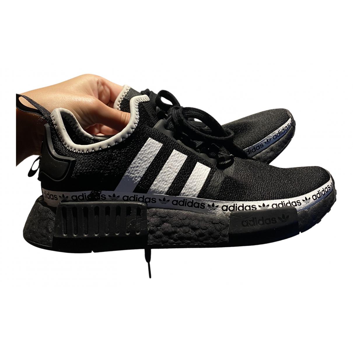 Adidas - Baskets   pour femme en caoutchouc - noir